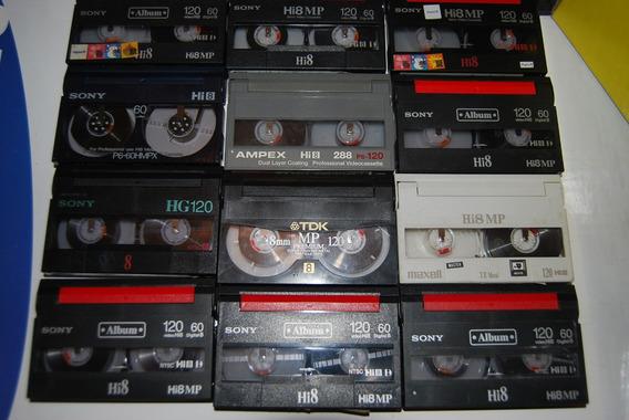 Cassette Hi8 Mm Mp 60m Usados Varios Video 8