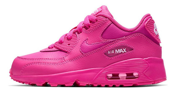 Zapatillas Nike Air Max 90 Leather Niño
