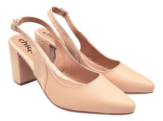 Scarpin Sapato Feminina Chiquiteira Chiqui/45701