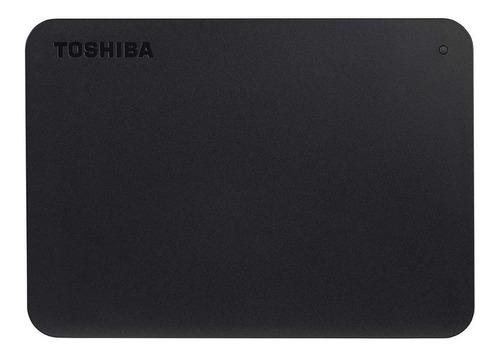 Imagen 1 de 3 de Disco duro externo Toshiba Canvio Basics HDTB420XK3AA 2TB negro