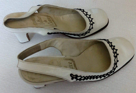 Sapatos De Fiesta Charolados Clasic 1960