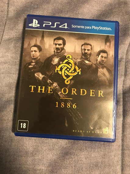 Jogo Ps4 The Order