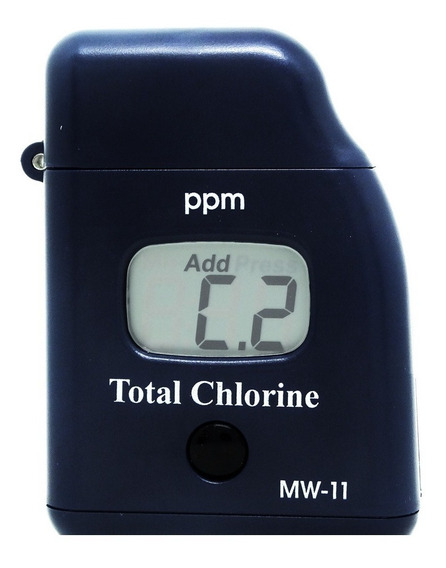 Fotômetro Para Cloro + Reagentes Cloro Livre/total Ins-11