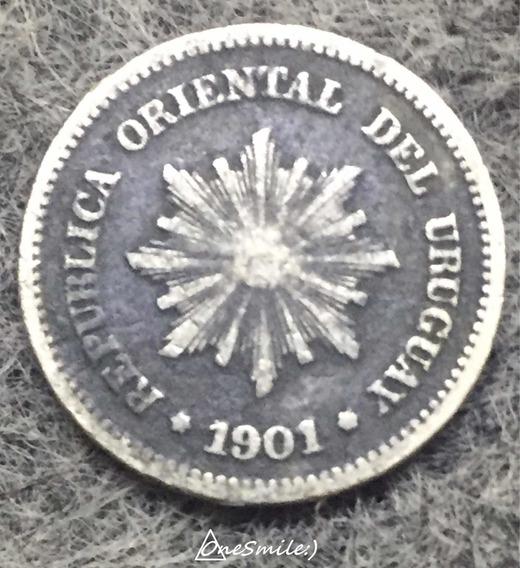Onesmile:) Moneda De Uruguay 1 Centésimo Año 1901