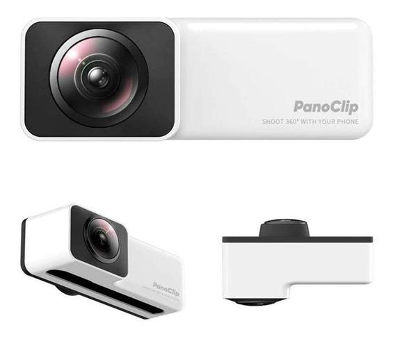 Lente 360 Panorâmico Vr Panoclip Olho De Peixe iPhone 7 8
