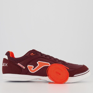 Chuteira Joma Top Flex Futsal Bordô