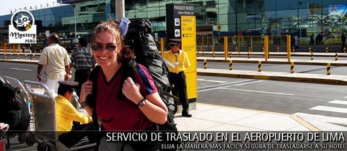 Imagen 1 de 9 de Transporte Al Aeropuerto Desde San Borja En Minivan