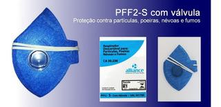 100 Pçs Mascara Respirador Semi Facial Pff2 C/ Filtro Para Pó E Fungos