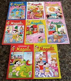 Almanaque Da Magali (8 Edições)