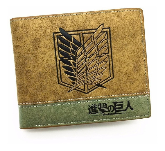 Cartera Shingeki No Kyojin Billetera Attack Envío Gratis