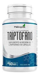 Triptofano - 60 Cápsulas - Melcoprol