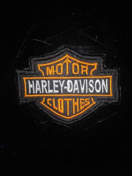 Parche Harley Davison Bordado