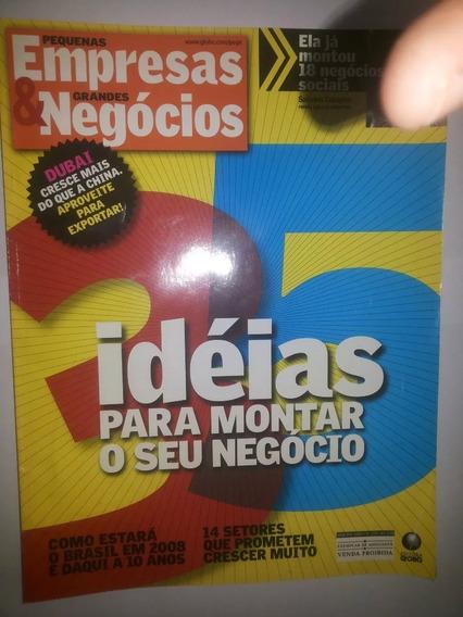 Revista Pegn Pequenas Empresas Grandes Negócios 228 Jan 2008