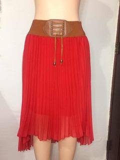 Falda Roja M