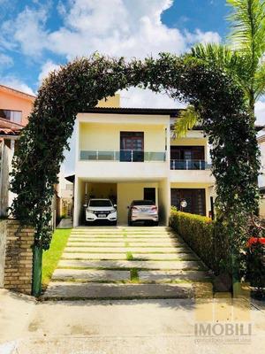 Casa Residencial À Venda, Residencial Oceanis, Maceió. - Ca0274