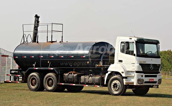 Caminhão Tanque Pipa Mb 3340 6× 20.000 Litros Ano 2011