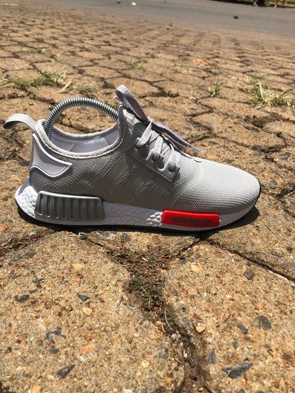 Tênis adidas Nmd Runner R1 (promoção) - Cinza/vermelho
