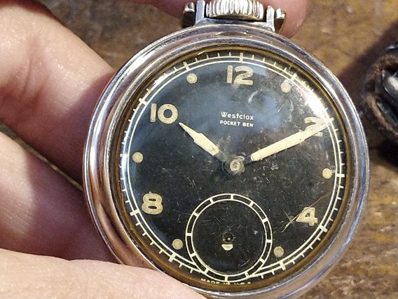 Reloj De Bolsillo Westclox Pocket Ben Americano