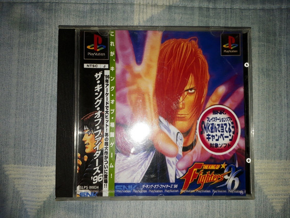 Playstation 1 The King Of Fighters 96