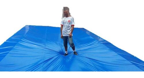 Imagem 1 de 5 de Capa Protetora Piscina 6x10 Azul