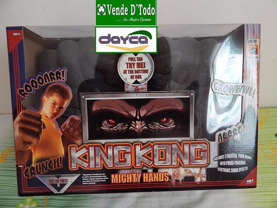 Juguete Nino Guantes Manos De Foamy King Kong Con Sonido