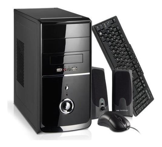Computador Brazilpc Intel Core I5 4gb 1tb Teclado Mouse