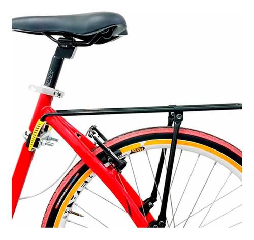 Imagem 1 de 3 de Bagageiro Traseiro Bicicleta Bike Garupa Flex Kalf Aro 26-29