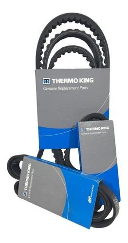 Imagem 1 de 6 de Kit Correias Thermo King Original T1080 Spectrum
