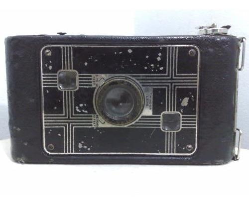 Camera Kodak Jiffy Six-20 Twindar Lens Abertura Do Fole Di