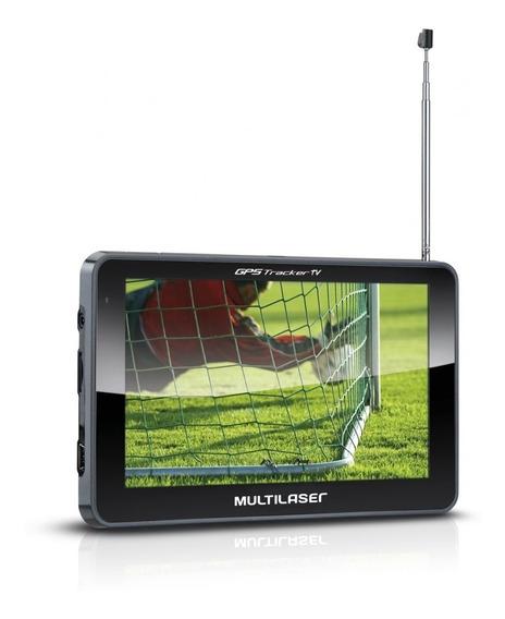 Gps 5.0 Polegadas Touchscreen C/ Tv Digital + Fm Multilaser