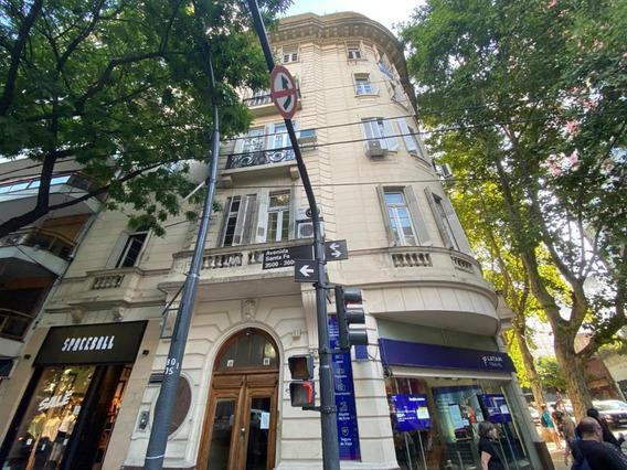 Departamento En Venta Palermo - Av Santa Fe Esq. Araoz. Semipiso Estilo Francés