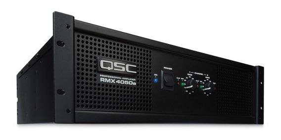 Qsc Amplificador De Potencia A Dos Canales Rmx4050a