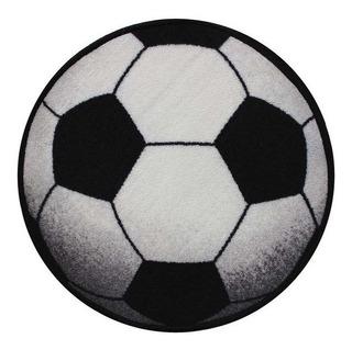 Tapete Diseño Pelota De Futbol 57 X 57 Cm