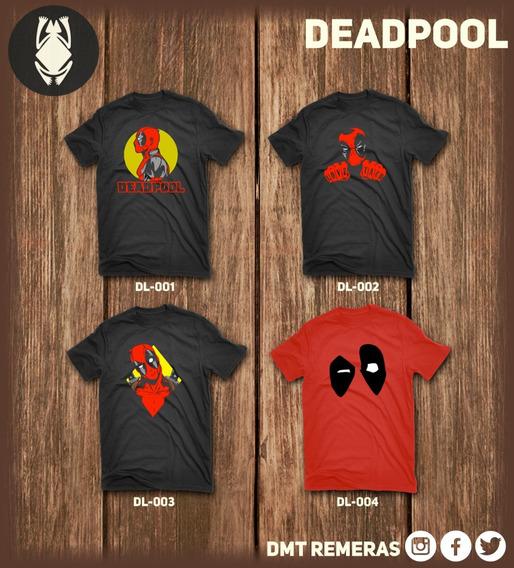 Remeras Deadpool - Estampadas Con Vinilo Importado