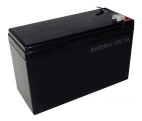 Bateria 12v 7a Selada - Para Sistemas De Alarme