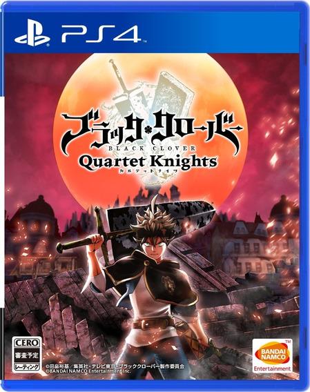 Jogo Black Clover Quartet Knights Ps4 Lacrado