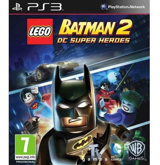 Lego Batman 2 Ps3 Psn Envio Rapido Orginal