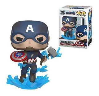 Funko Pop Capitan America 573 Broken Shield Avengers Endgame