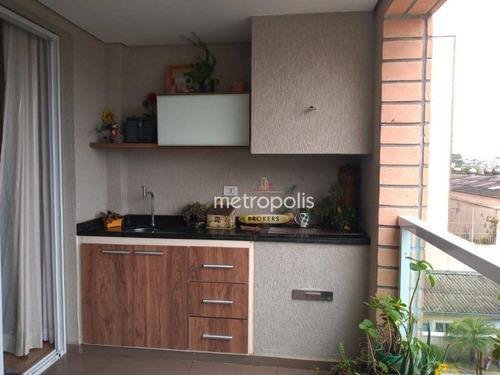 Imagem 1 de 30 de Apartamento À Venda, 102 M² Por R$ 775.000,00 - Santa Maria - São Caetano Do Sul/sp - Ap6367