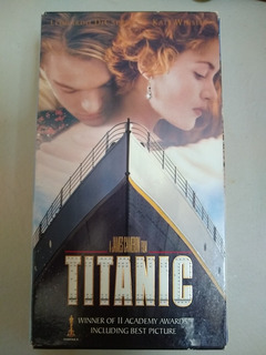 Titanic The Movie Original En Vhs