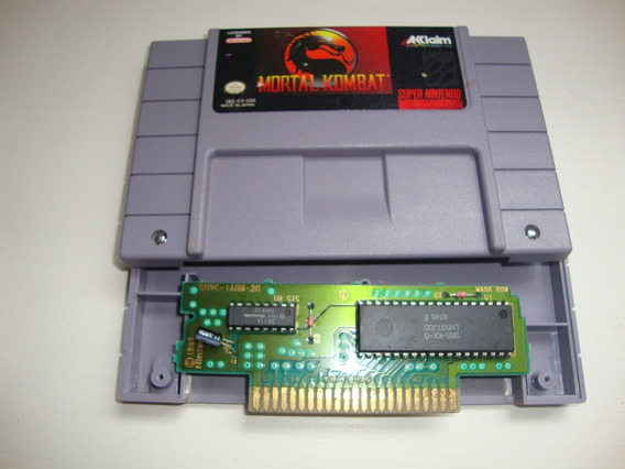 Mortal Kombat Americano Original Para Super Nintendo
