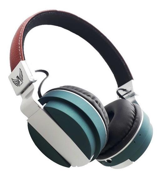 Fone De Ouvido Bluetooth Sem Fio Altomex A-839 Cinza / Azul