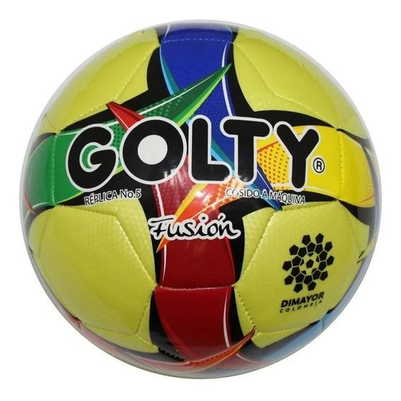 Balón De Fútbol Golty No Profesional Fusión No. 5