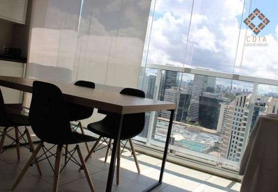 Apartamento Com 1 Dormitório À Venda, 51 M² Por R$ 689.990,00 - Brooklin - São Paulo/sp - Ap45981