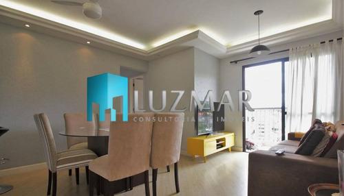 Imagem 1 de 15 de Apartamento Com Três Dormitórios No Portal Do Morumbi - 497g