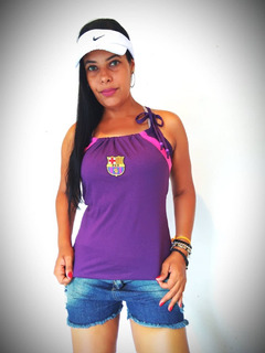 Blusa Feminina Do Barcelona Fc+frete Gratis