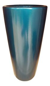 Vaso / Cachepot 72cm Em Fibra Estilo Vietnamita Varias Cores