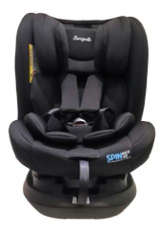 Cadeira Spin Isofix 360 De 0 A 36 Black - Burigotto