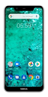 Nokia 5.1 Plus 3 Gb Ram 32 Gb Doble Cam Hd+5.8 Sensor Huella