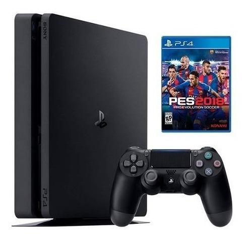 Sony Ps4 500 Gb + Pes 2018 + Control Dualshock 4